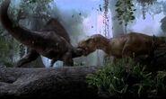 Spiny vastaan tyrannosaurus