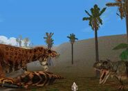 Jurassic Park Trespasser tyrannosaurus rex 5