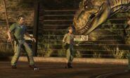 Jurassic Park the game tyrannosaurus rex rexy 4