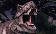 Jurassic Park The Game pelin tyrannosaurus