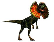 Arcade dilophosaurus