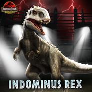 Jurassic Park Builder indominus rex