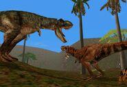 Isla Sornan katastrofi 1998 Jurassic Park trespasser