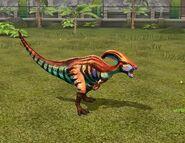 Jurassic World The Game parasaurolophus