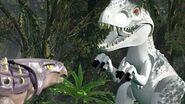 Indominus vs ankylosaurus lego jw peli