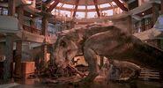 Jurassic Park 1993 tyrannosaurus rex rexy 9
