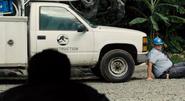Owen rekan alla Nick ja Indominus rex jurassic world