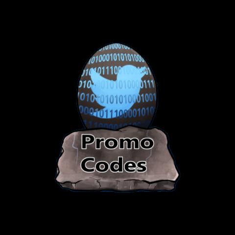 Classic <b>Promo Code</b> Button