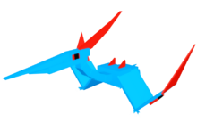 Electric Pteranodon