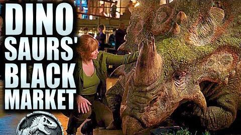 Dinosaurs' BLACK MARKET Jurassic World 2 (2018) HD Trailer Chris Pratt, Bryce D. Howard, Movie