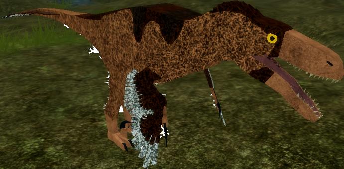 Utahraptor dinosaur simulator wikia fandom powered by for Utahraptor coloring page