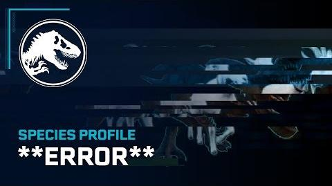 Species Profile - **ERROR**