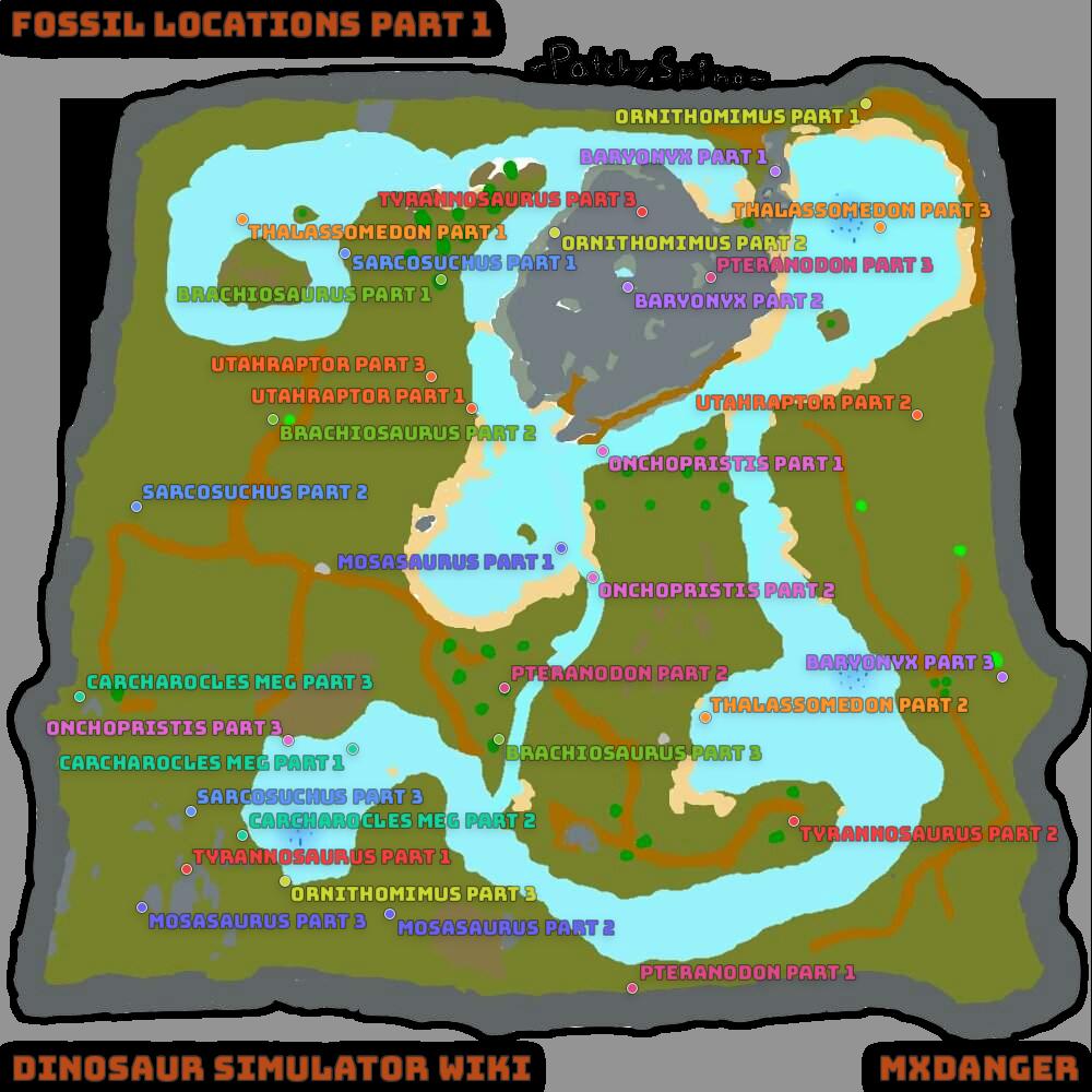 Dinosaur Simulator Halloween Event 2020 Where Is Fossil Utah Fossil List | Dinosaur Simulator Wiki | Fandom