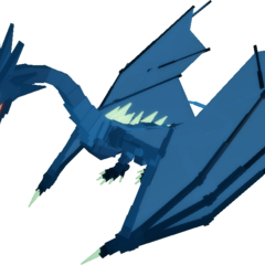The Wyvern in Mid Flight