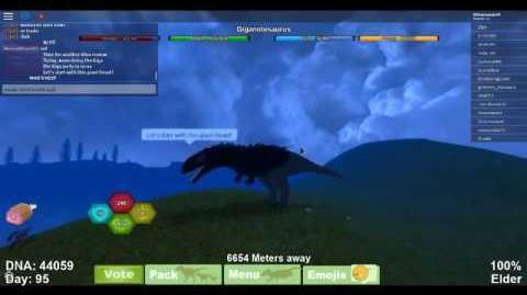 Dinosaur Simulator Dino Review! -Giganotosaurus