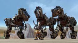 Desert Scraptors & Click Clack