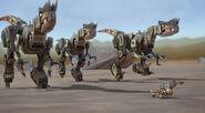 Desert Scraptors follow Click Clack