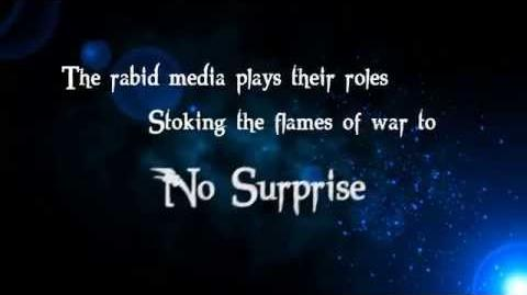 Disturbed - The Vengeful One - UNOFFICIAL Lyrics Video- ==RE-UPLOADED==