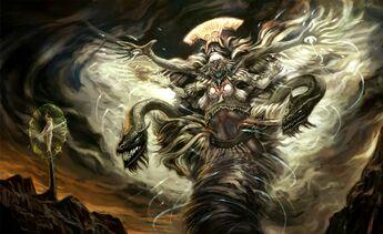 Lexias's God Form