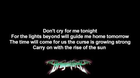 DragonForce - E. P. M. (Extreme Power Metal) - Lyrics on screen - HD