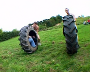 Tirerace begins