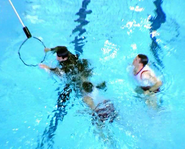 Battle swimming test11