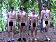 Naked Paintball Cencored