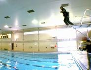 Battle swimming test7