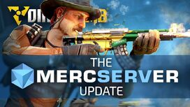 MercServer Update - Cover