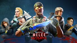 MercSERV Melee Mayhem Update - Cover