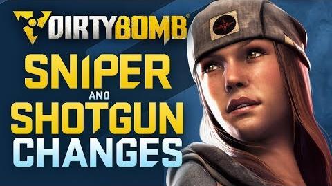Dirty Bomb Sniper and Shotgun Changes