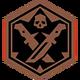 Melee Kills Lvl 1 (Badge)