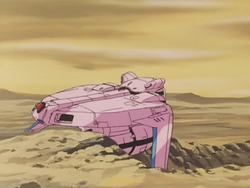 Dirty Pair09-Lovely Angel-crashed