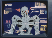 Tactical Robot Weapon Diagram OVA-2