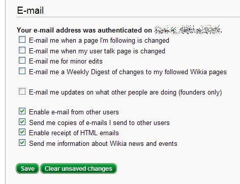 Founder Emails preference