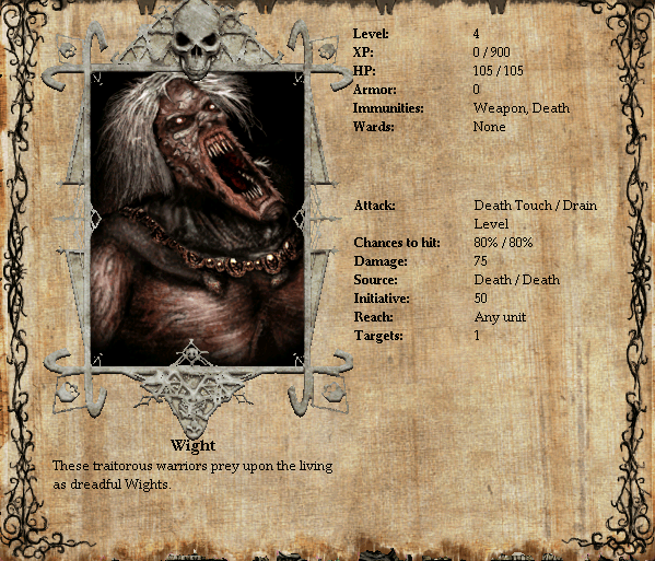 Wight Stats