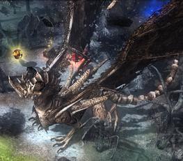 Bone Dragon worldmap