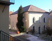 Trebic zamosti front synagogue