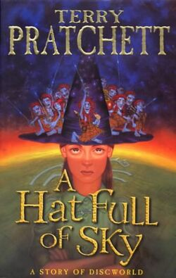A Hat Full of Sky Cover