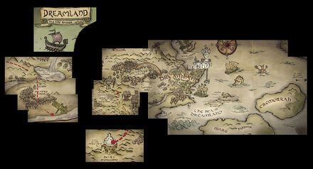 DISENCHANTMENT map large reconstructed