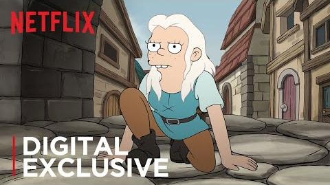 Disenchantment Introducing Bean Netflix