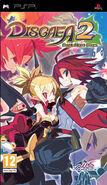 Disgaea 2 PSP EU Cover