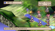Laharl Lifting Etna in Disgaea Afternoon of Darkness