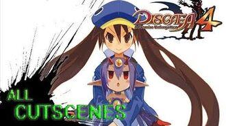Disgaea 4 The Fuka & Desco Show - All Cutscenes Full Story 1080p HD