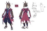 D2 Male Samurai Concept