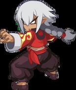 DD2 Martial Artist (Male Brawler) Sprite