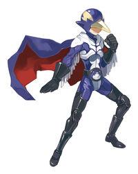 D3 Masked Hero Artwork