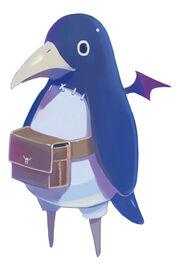 Prinny the Peg-Leg Penguin