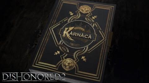 """Vídeo narrativo de Dishonored 2 """"El libro de Karnaca"""""""