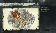Квартал особняков, карта